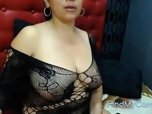 colombiana madura tetona en webcam