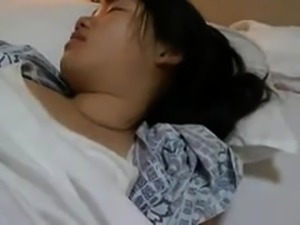 Sleeping Japanese teen gets used by a horny guy POV style