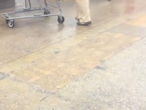 Huge BBW in work pants 2