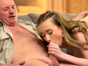 DADDY4K. Slender Jessi is happy to get closer to young mans