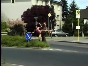 Public Outdoor Blowjob