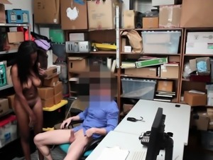 Blonde cuckold black and girl gets fucked by white guy in