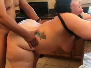 Chubby & Thick Wife with Big Boobs with Her Boss On Vacation