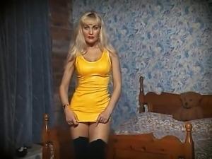 HUMAN NATURE - blonde beauty striptease dance