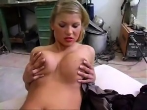 Sexy big boobs white girl gives a pov blowjob