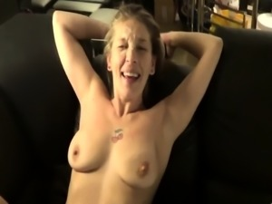 Mature amateur wife homemade anal with hot facial