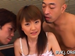 Admirable oriental perfection Rin enjoys sex action