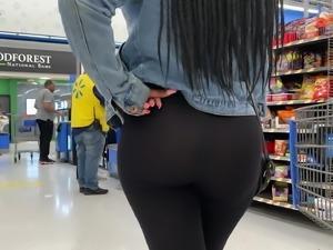 Bubble Booty See Thru Leggings No Panties