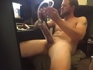 My hobby is stroking my hard dick