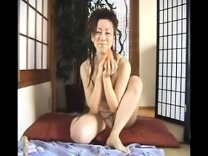 Asian milf masturbation video