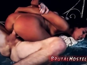 Dominates guys ass and bondage beaten Poor little Latina tee