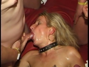 39 1-3: Bukkake Gangbang Sperm Swallowing Facials Blowjobs