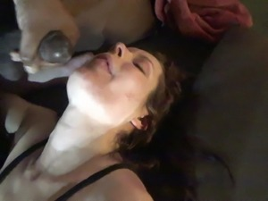 white wife takes bbc load and swallowsno31