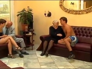 She does this even when her husband is nearby. Granny Susana