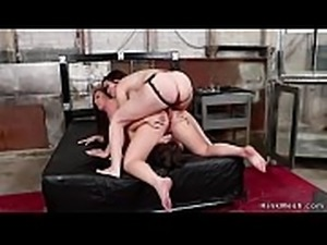 Lesbians in sixtynine taking anal fuck