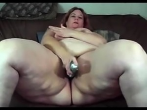 If you love watching fat women masturbate then watch this
