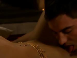 Desi Babe Enjoys Massage