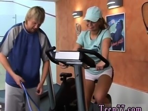 Bengali anal Sascha anal drilled by fitness instructor